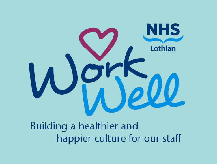NHS Lothian: employee wellbeing caring visual identity