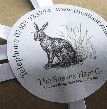 Sussex Hare Co: brand, ecommerce and packaging for online retailer